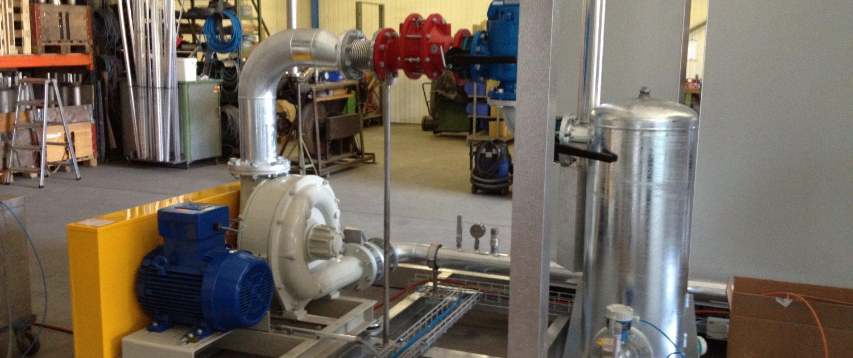 Eko Work Impianti di captazione e combustione biogas